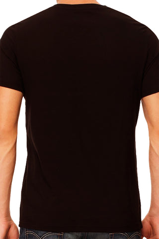 Black V-Neck T-Shirt (Unisex)