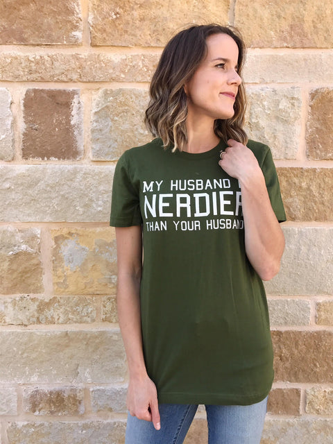 Nerdy Husband Tee