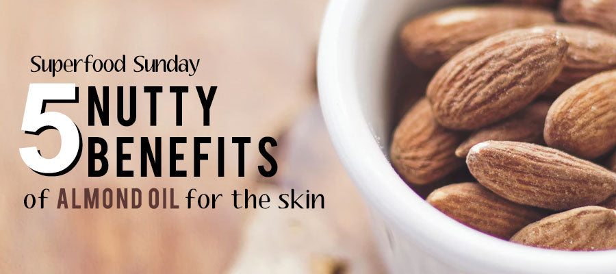 5 Nutty Benefits of Almond Oil for the Skin superfood sunday nut milk blur cup bowl brown white delicious