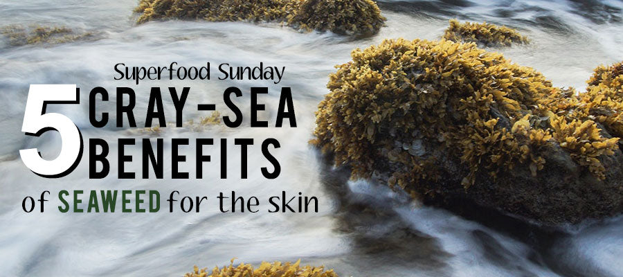 superfood sunday five cray sea crazy benefits seaweed extract skin mist rock ocean sea wash fresh breeze green white blue refreshing