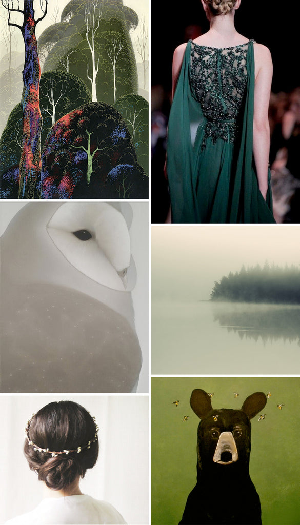color inspiration | woodland palette | eve sand