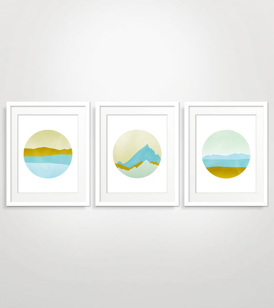 Pacific Northwest - Wall Art Set of 3
