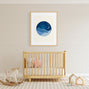 moon and stars nursery wall art decor