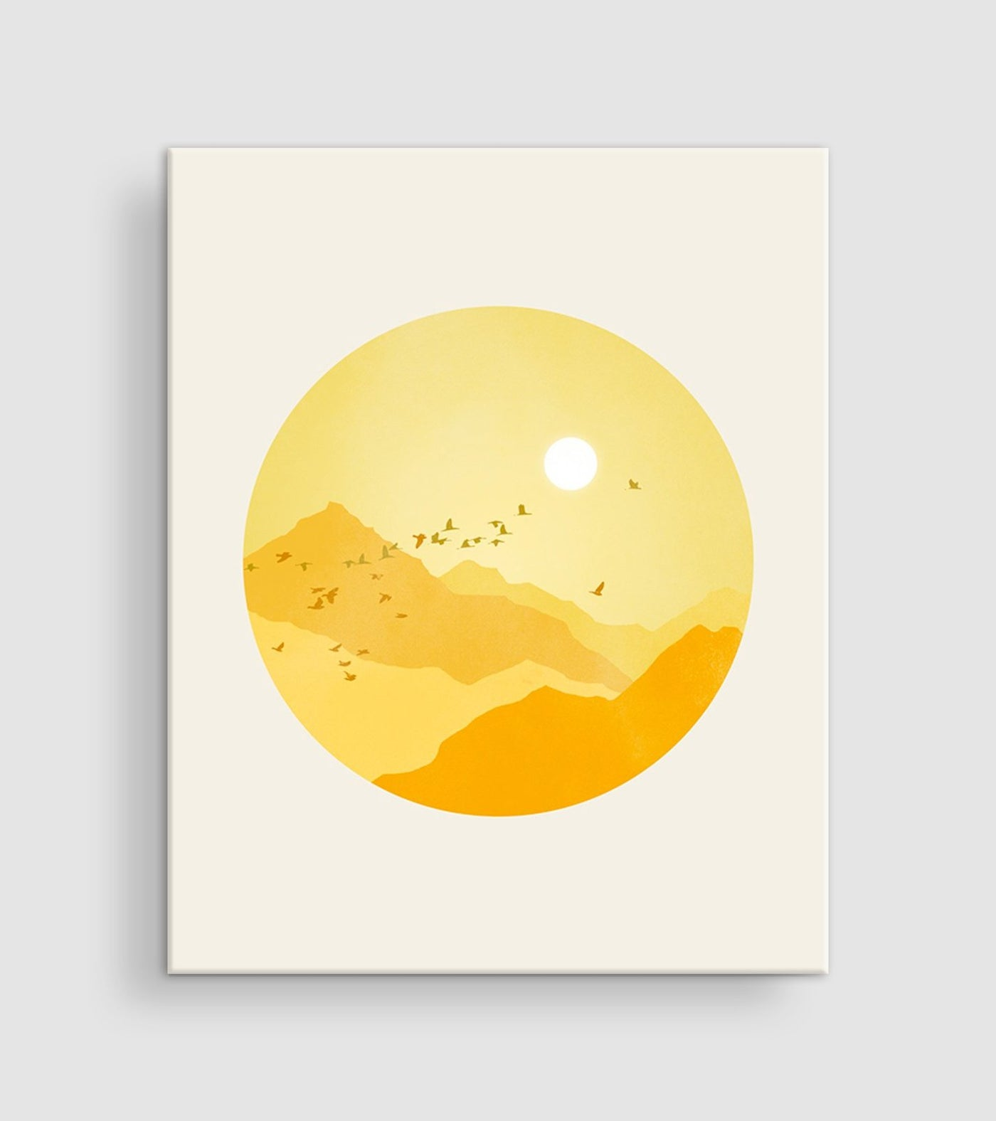 sunshine nursery wall art canvas