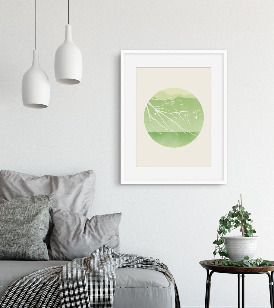 scandinavian wall decor for living room