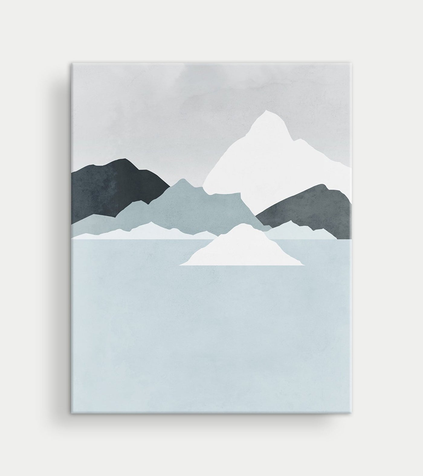 scandinavian modern canvas art neutral wall decor