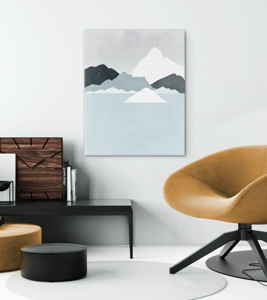 neutral abstract wall art canvas for living room