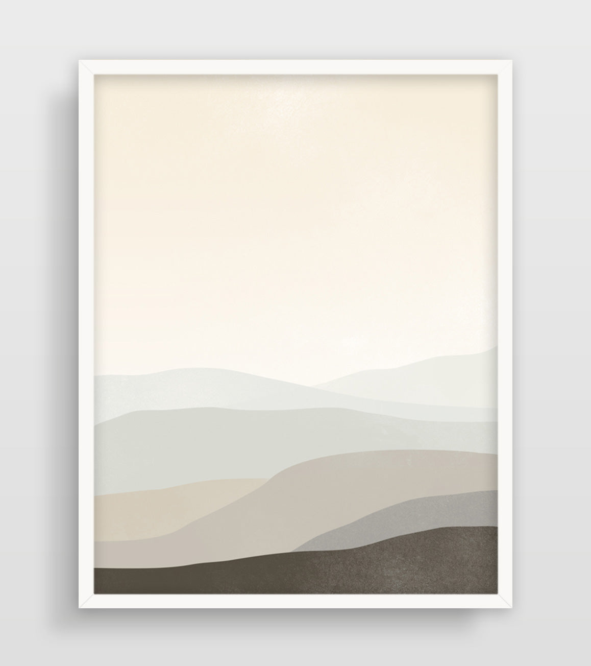 large neutral abstract wall art