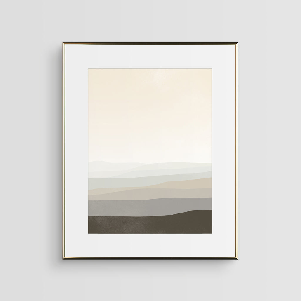 neutral abstract wall art by eve sand