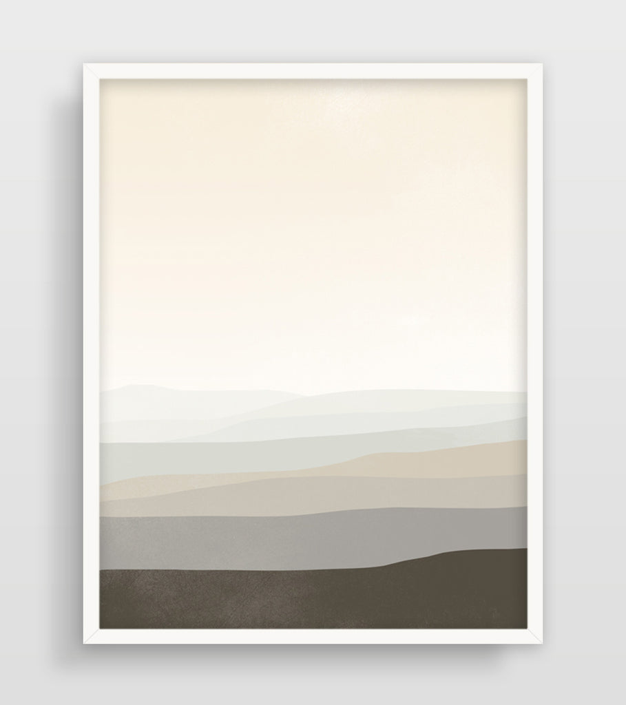large neutral wall art abstract by eve sand