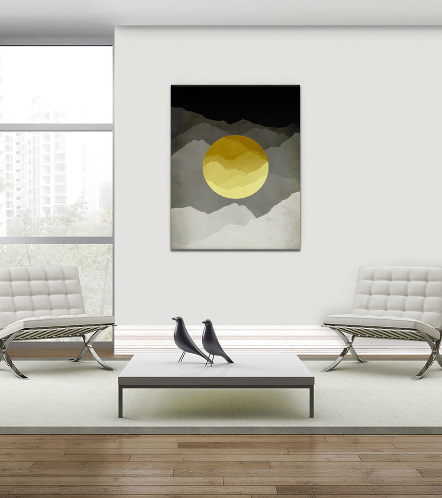 mid century modern wall art by eve sand