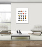 Polka Dots I - Canvas Print