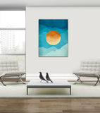 Dusk and Dawn - Canvas Print