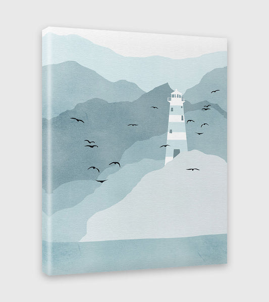 lighthouse nautical decor by eve sand