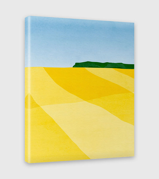Canola Fields I - Canvas Print