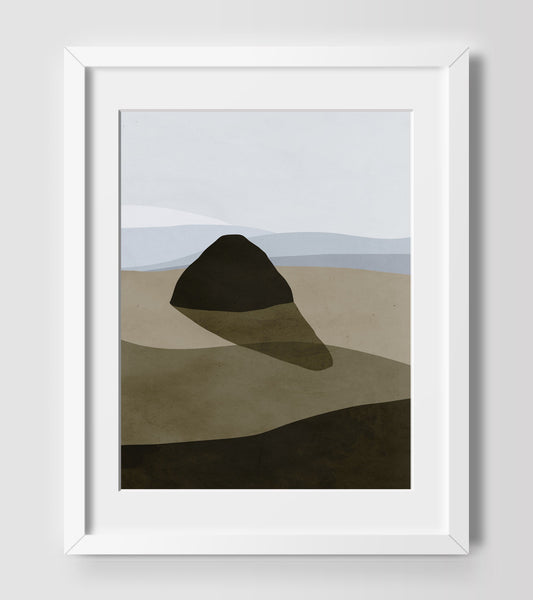 oregon coast art print by eve sand