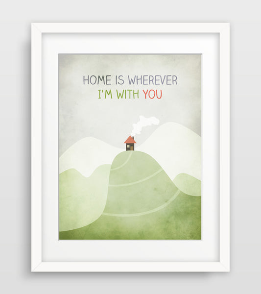home is wherever i'm with you by eve sand