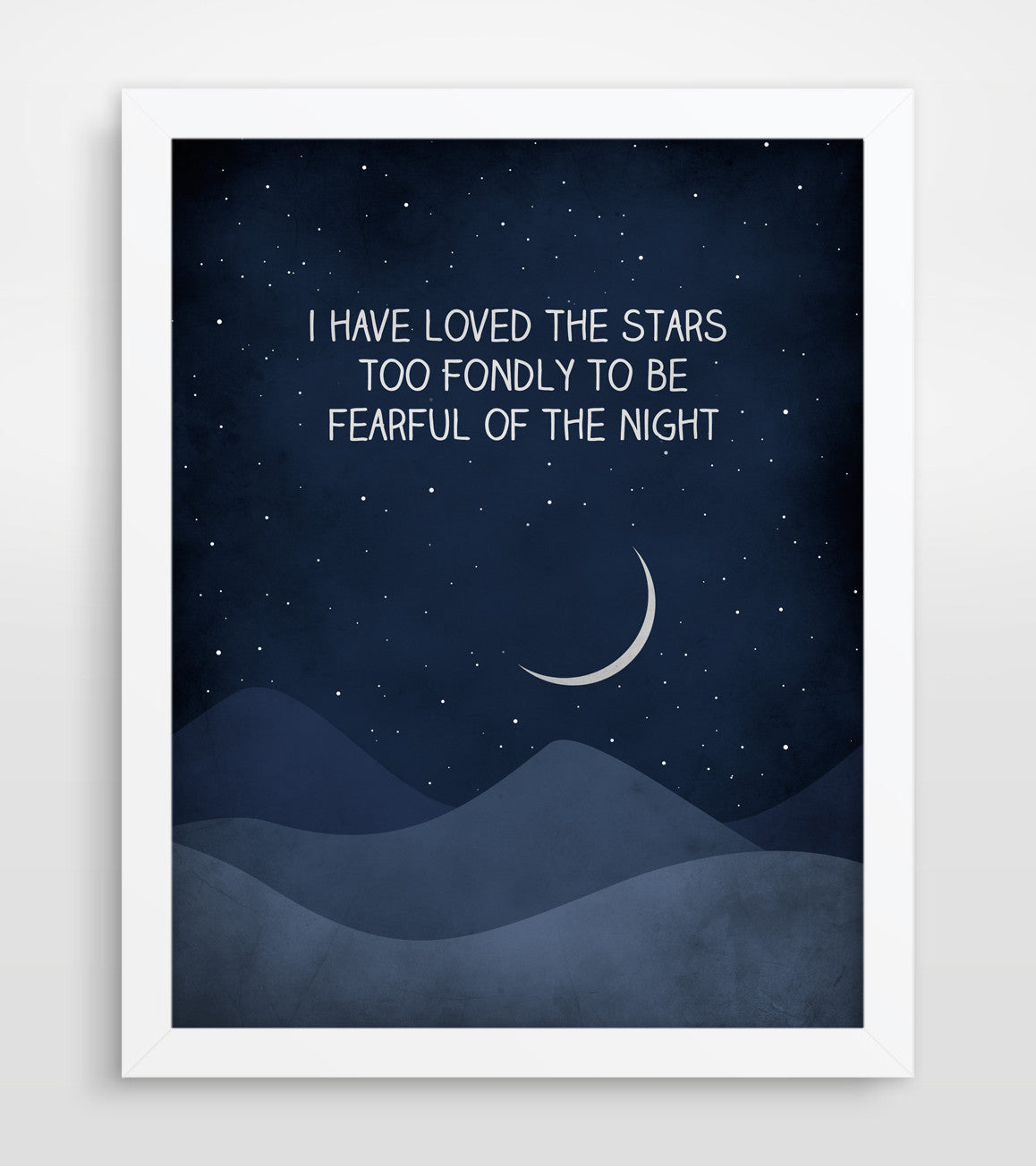 I have loved the stars too fondly