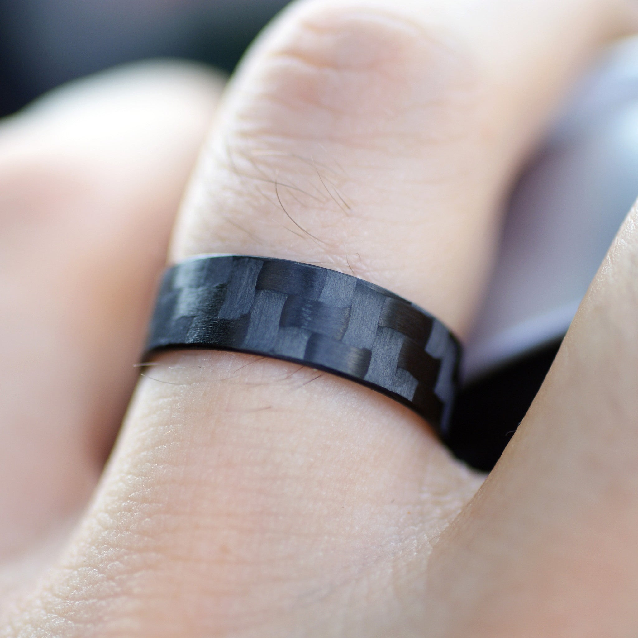 mirell rings ti edward black ring carbon fiber wedding sterling titanium wellington o silver by