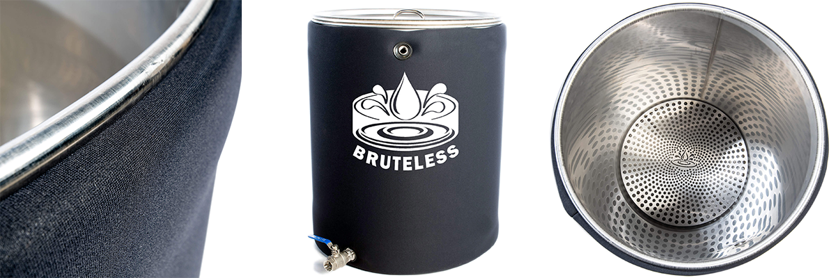 Bubble Hash Washing Vessel Stainless Steel Bruteless Ice Water Hash
