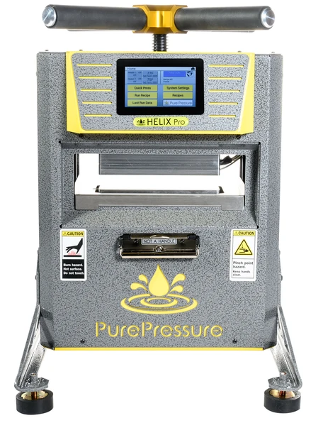 PurePressure Helix Pro 5 Ton Manual Rosin Press Home Solventless Extraction