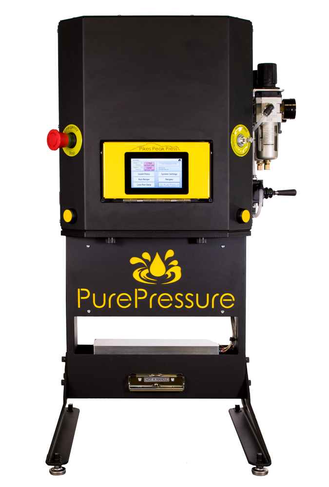 PurePressure Pikes Peak V2 Automated Rosin Press Commercial Solventless Extraction
