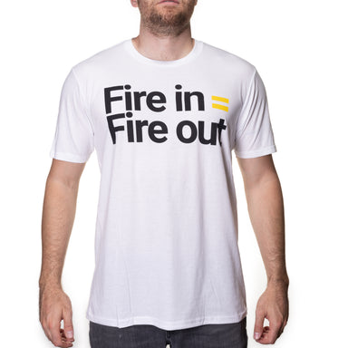 Fire In = Fire Out Tri Blend T-Shirt