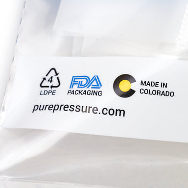 Food Grade USA Made Rosin Filter Bags PurePressure Nylon Rosin Press Bags