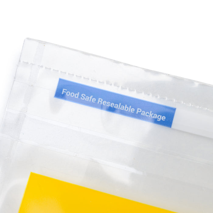 Food Safe Resealable Packaging PurePressure Rosin Filter Bags