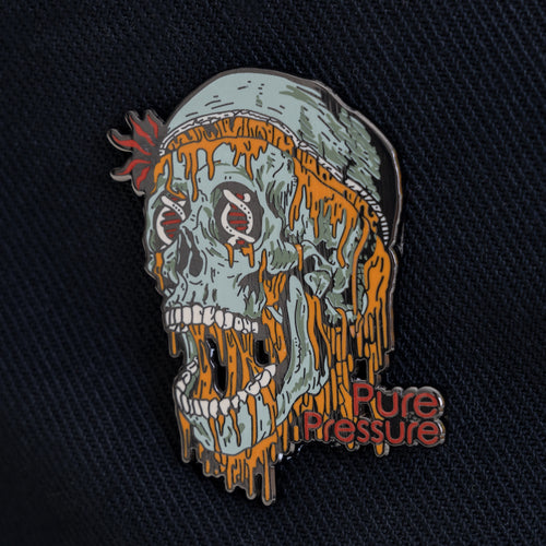 Rosin Skull Hat Pin