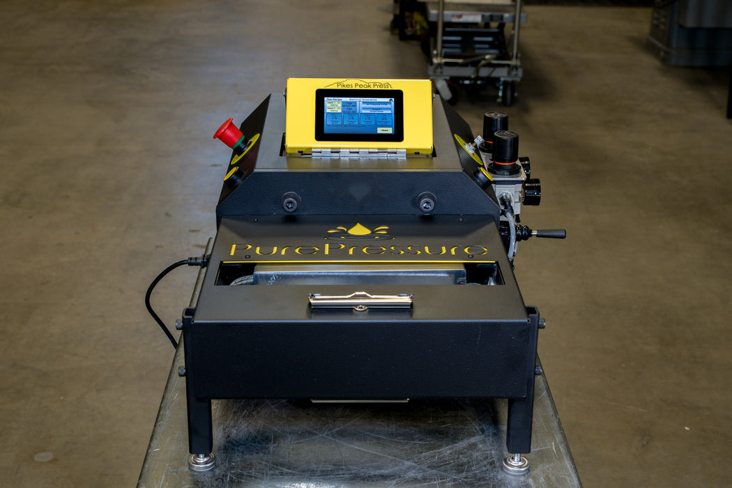 Rosin Press PurePressure Pikes Peak Horizontal V2 LCD Touchscreen
