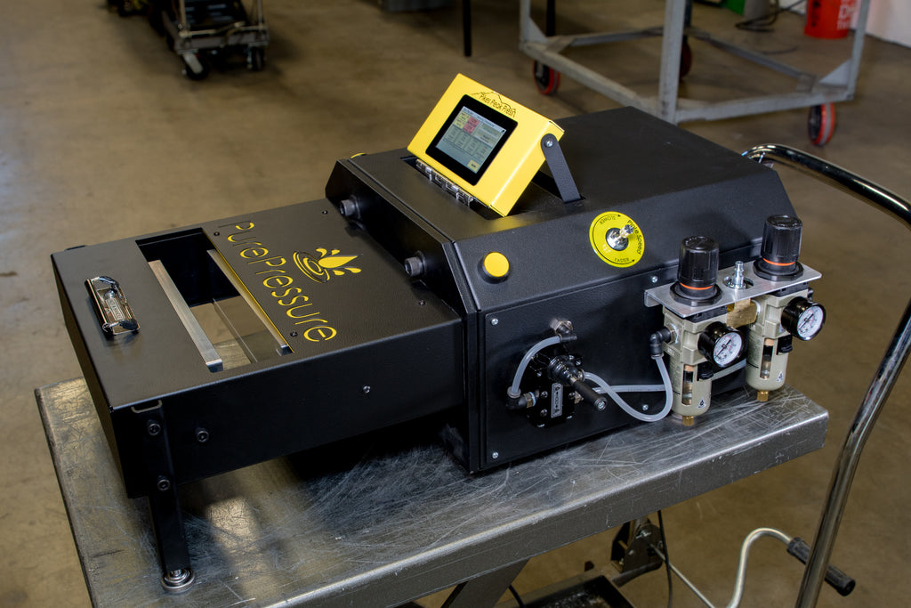Rosin press Machine Pikes Peak Horizontal V2 LCD Touchscreen
