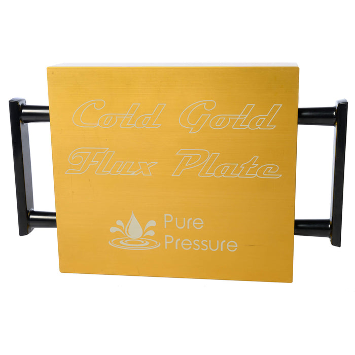 Rosin Press Flux Plate Cold Gold THCA Separation Terpene Separation