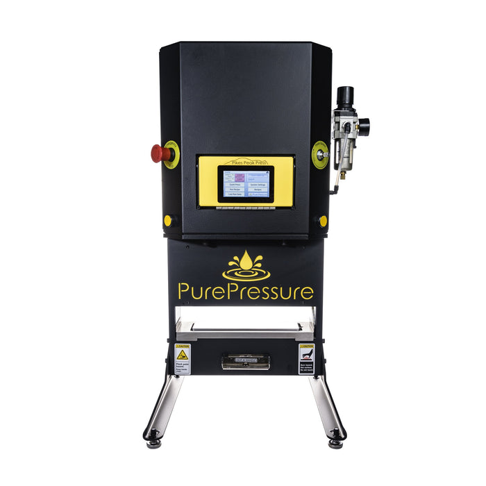 Pikes Peak V2 Rosin Press LCD Touch Screen Technology