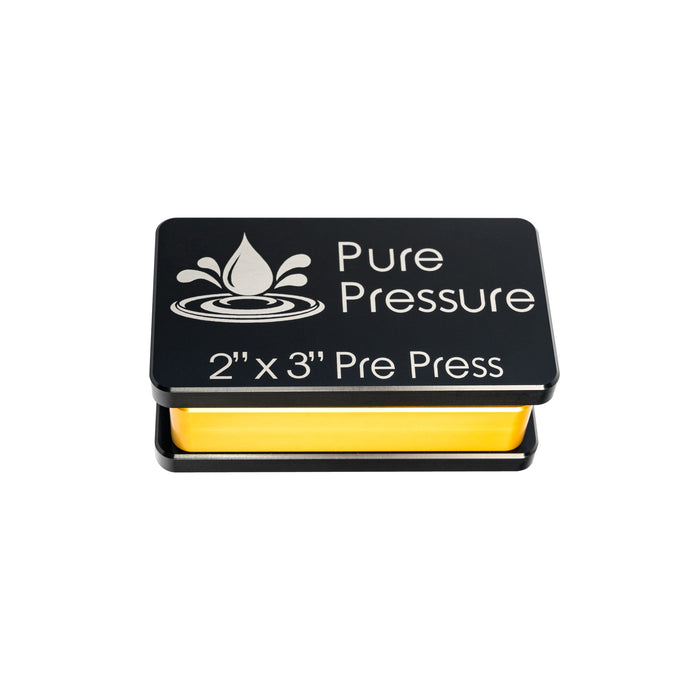 PurePressure 2x3 Pre Press Rosin Press Mold USA Made 100% Aluminum