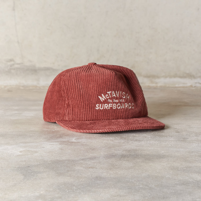 McTavish Cord Po Box 808 5 Panel Cap