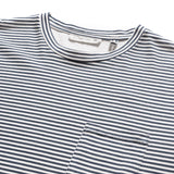SAND WASHED LONG SLEEVE STRIPE TEE