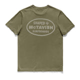 SHAPED BY MCTAVISH TEE