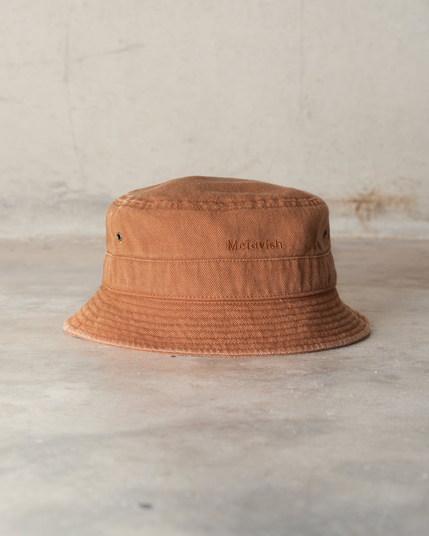 McTavish Washed Twill Bucket Hat