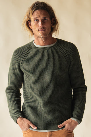 FISHERMAN KNIT CREW