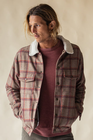 LAST LIGHT WOOLLEN SHERPA JACKET