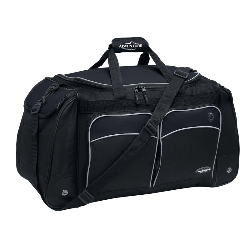 "Travelers Club Adventure 28"" Multi-Pocket Duffel with Wet & Shoe Pocket"