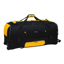 "Travelers Club Adventure 36"" 2-Section Drop Bottom Rolling Duffel"