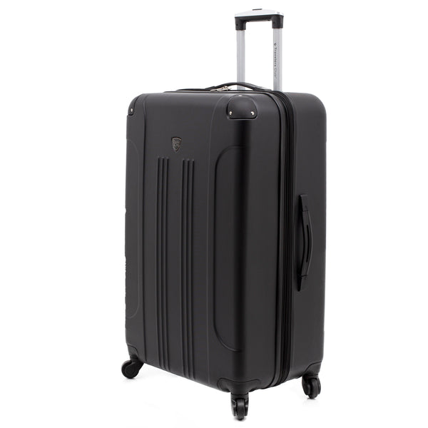 "28"" Chicago Check-In Spinner Expandable Hardside Suitcase Luggage"