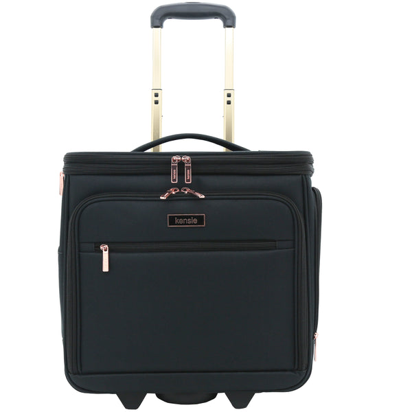 Kensie 16 in. Rolling Underseater Carry-On
