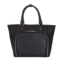 "kensie 14"" Black Twill Fashion iPad Tote"