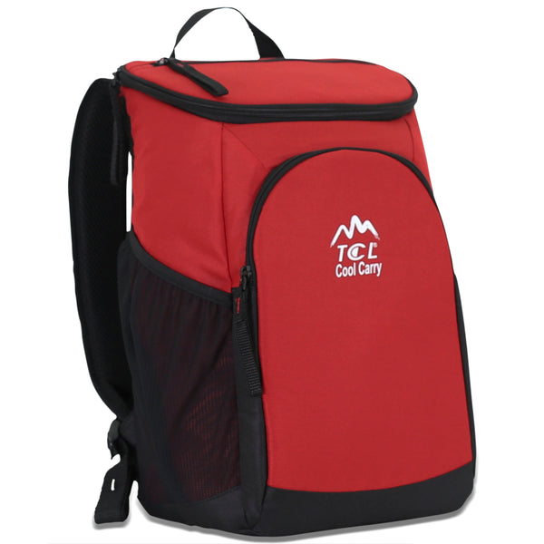 "Cool Carry 16"" Insulated Cooler Backpack"