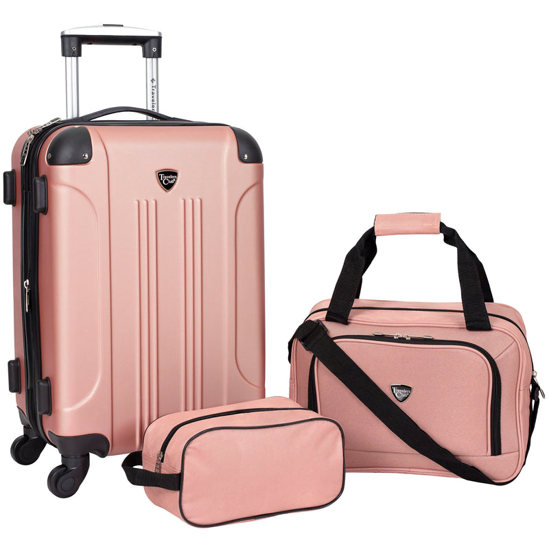 Travelers Club Chicago Plus Collection, Basic Luggage Sets