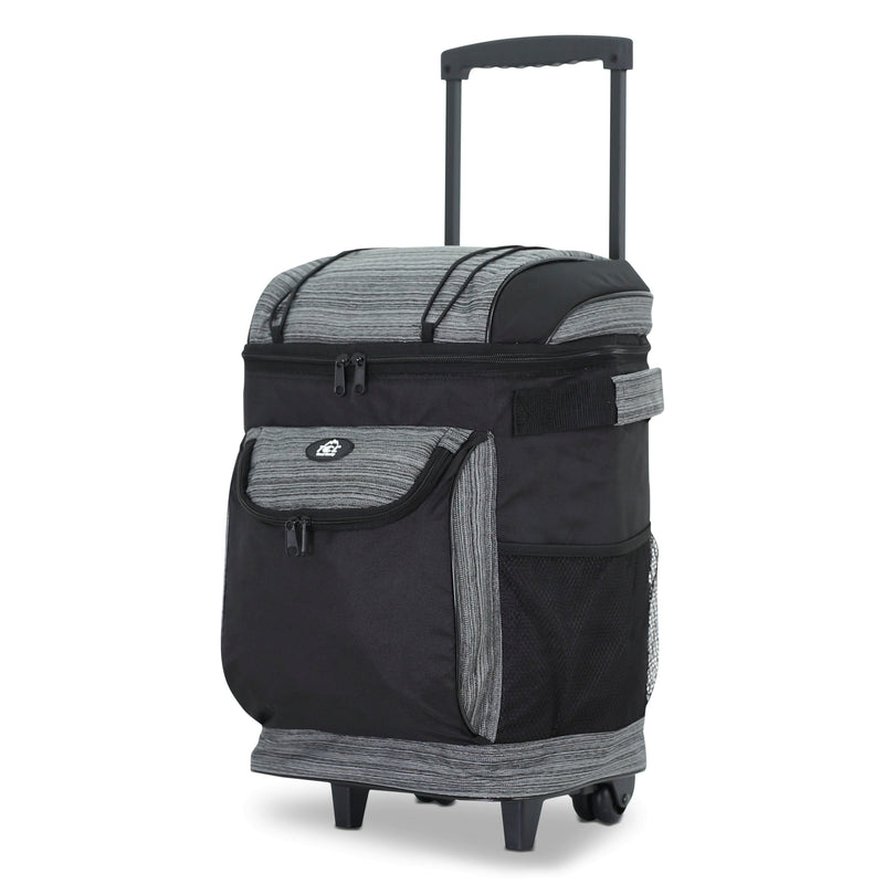"Cool Carry 16"" Rolling Cooler with Thermal Insulation"