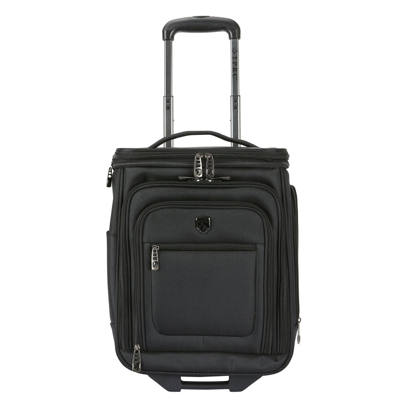 "TPRC 17"" Rolling Underseater with Top Expandable Section, Black"